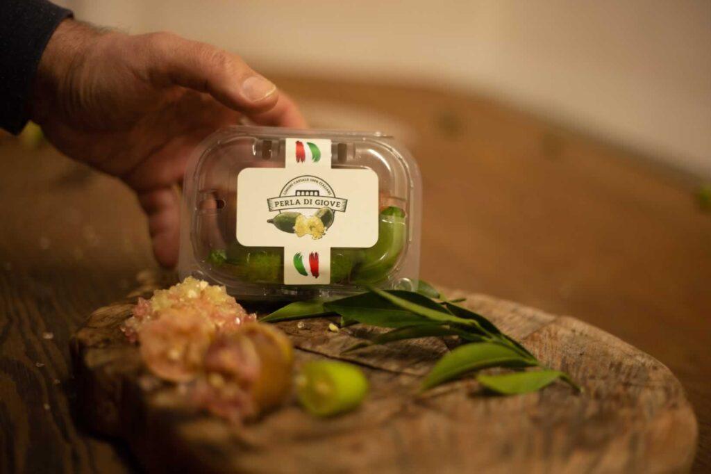 i nostri limoni -finger lime - packaging